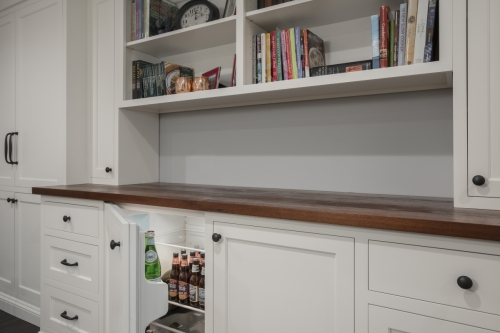 Cabinetry Wellesley Basement Contemporary Design Build