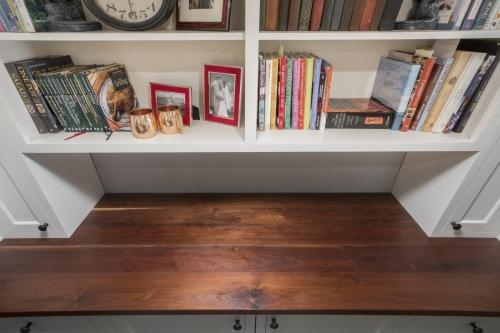 Bookcase Wellesley Basement Contemporary Design Build
