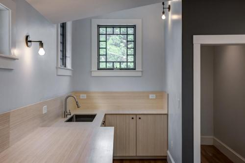 Bamboo Counters Watertown MA Contemporary Design Build