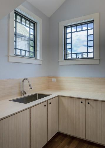 Bamboo Counters and Sink Watertown MA Contemporary Design Build