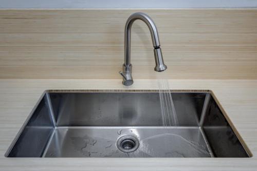 Artist Loft Sink Watertown MA Contemporary Design Build