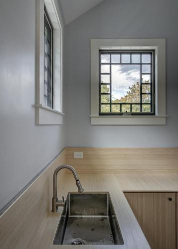 Window and Counters Closeup Watertown MA Contemporary Design Build