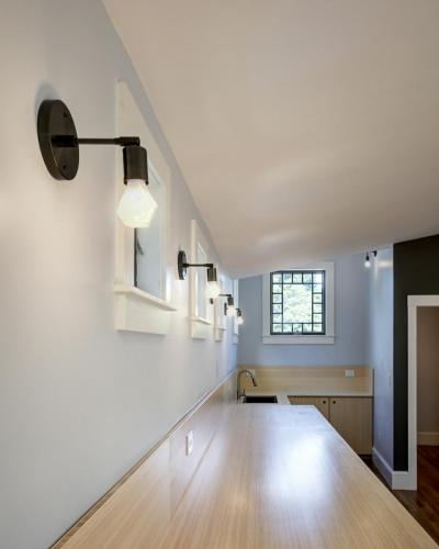 Artist Loft Lighting Watertown MA Contemporary Design Build