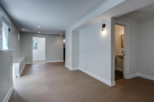 New Apartment Living Space Watertown MA Contemporary Design Build