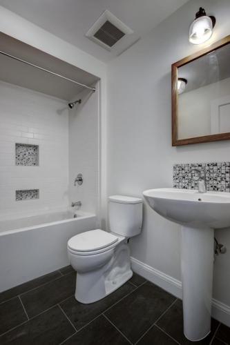 Basement Bathroom Remodel Watertown MA Contemporary Design Build