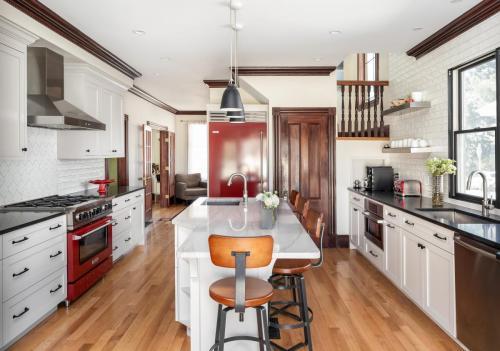 Full Kitchen Remodel West Roxbury MA Contemporary Design Build