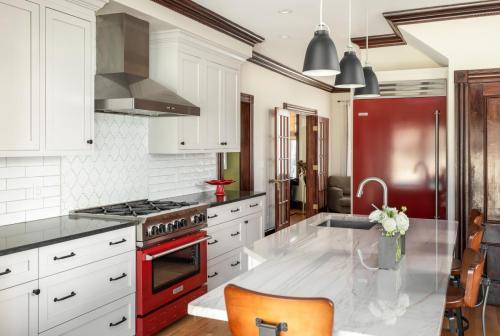 Kitchen Appliances West Roxbury MA Contemporary Design Build