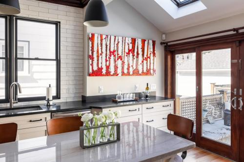 Kitchen Sink Wall Art West Roxbury MA Contemporary Design Build