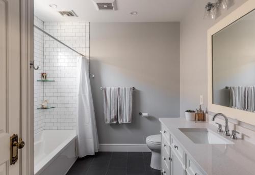 Bathroom Shower West Roxbury MA Contemporary Design Build