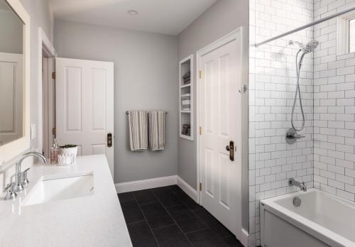 Bathroom 1 West Roxbury MA Contemporary Design Build