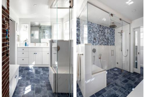 Full Bathroom Remodel Belmont MA Contemporary Design Build