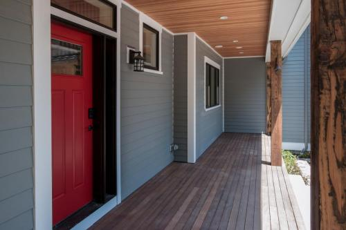 Front Porch Contemporary Design Sherborn MA