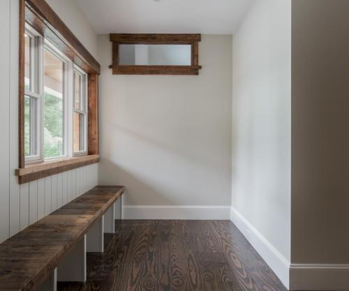 Mud Room Seating Contemporary Design Sherborn MA
