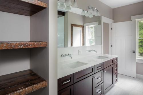 Bathroom Vanity Contemporary Design Sherborn MA