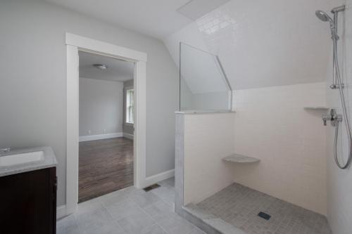 Bathroom 2 Shower Contemporary Design Sherborn MA