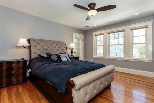 Master Bedroom Bright Belmont MA Contemporary Design
