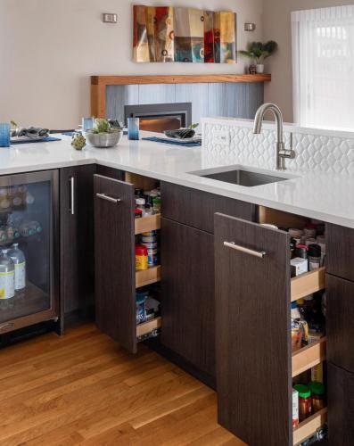 Kitchen Cabinetry Contemporary Design Newton MA