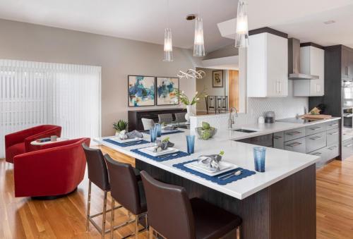 Kitchen Counter Contemporary Design Newton MA