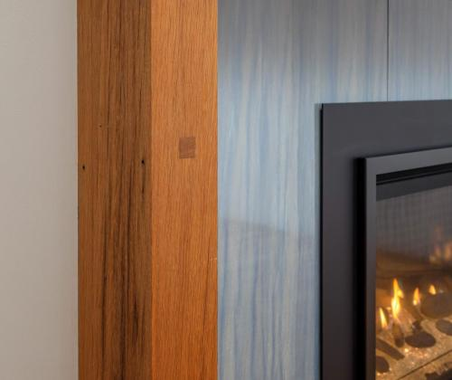 Fireplace Contemporary Design Newton MA