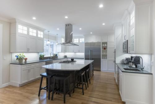 Full Kitchen Remodel Contemporary Design Acton MA