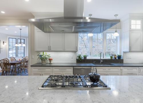 Kitchen Stovetop Contemporary Design Acton MA