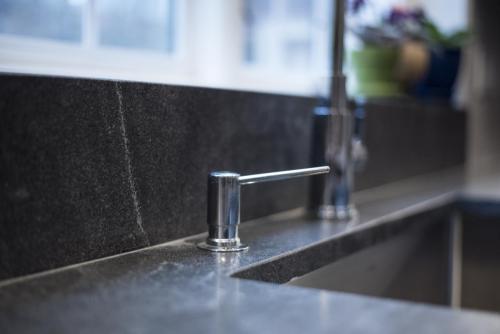 Sink Closeup Contemporary Design Acton MA