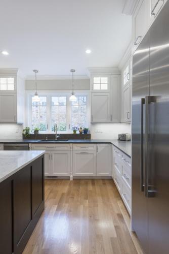 Kitchen Sink Window Contemporary Design Acton MA