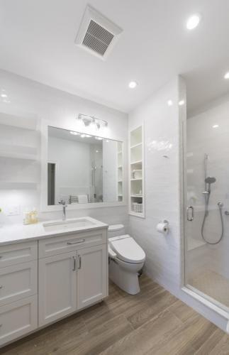 Bathroom 2 Shower Contemporary Design Acton MA