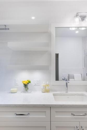 Bathroom 2 Vanity Contemporary Design Acton MA