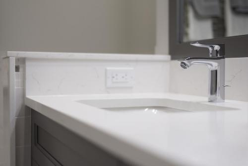 Master Bathroom Sink Contemporary Design Acton MA