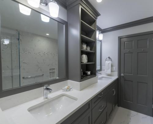 Master Bathroom Contemporary Design Acton MA