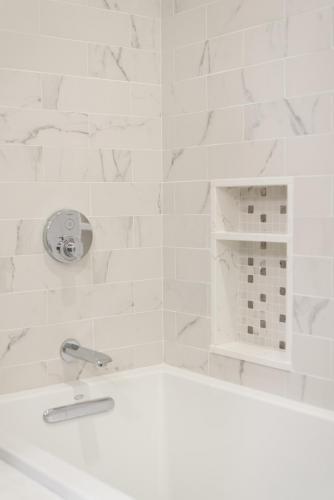 Shower Shelves Contemporary Design Acton MA