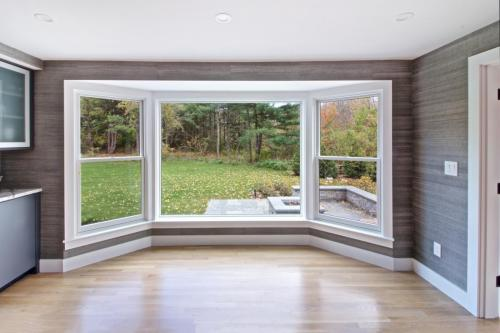 Dining Room Window Contemporary Design in Weston MA