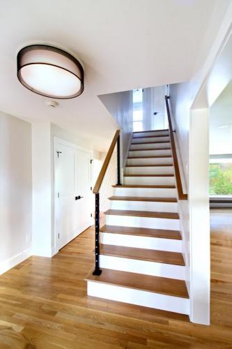 Entryway Contemporary Design in Weston MA