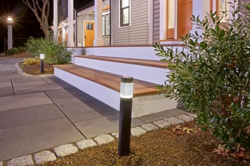 Front Steps Contemporary Design in Weston MA